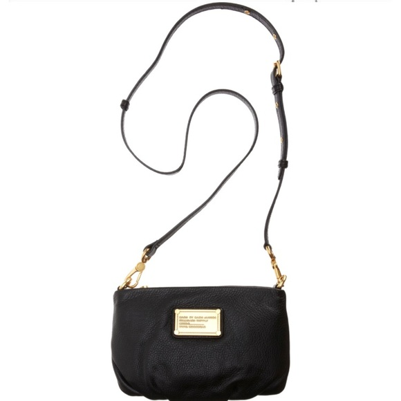 1267bd4239 Marc by Marc Jacobs Classic Q Percy Bag in Black. M_5b84a9381e2d2dcc784358f5